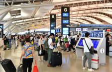 関空、旅客数1%増254万人 訪日客は1%増131万人、19年11月