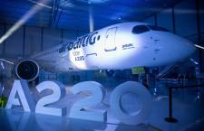 A220、製造100機到達 エア・バルティックにA220-300