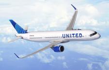 ユナイテッド航空、A321XLRを50機発注 大西洋横断路線に