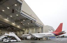 三菱航空機、米モーゼスレイクの飛行試験拠点公開 スペースジェット改称後初「最終段階迎えつつある」