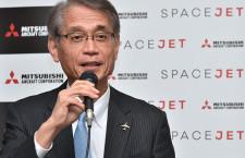 三菱スペースジェット、型式証明の年内取得困難に 水谷社長「厳しいスケジュール」