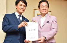 鹿児島県、ピーチに拠点化要請 国際線就航も、三反園知事「支援強化」