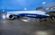 777Xの初飛行、25日に再延期 風速の条件満たせず