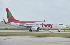 ティーウェイ航空、札幌-ソウル4月再開 大邱は運休継続