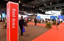 シンガポール航空ショー開幕 出張自粛で静かな会場、スペースジェットはモックアップ展示