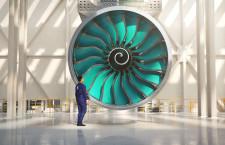 ロールス・ロイス、世界最大のファンブレード製造開始 UltraFan実証機向け