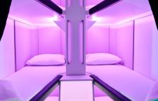 ニュージーランド航空、エコノミー寝室「スカイネスト」 ベッドや寝具、21年導入判断