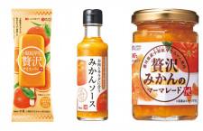 香川県産ミカン「小原紅早生」のアイスバー JALや女子栄養大と共同開発