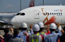聖火輸送機、羽田からアテネへ出発 TOKYO 2020号、JALとANA協力