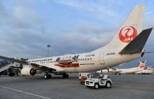 JTA、5月旅客数90.8%減 利用率18.5%