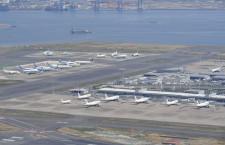 羽田空港、2月利用者81.9%減108万人 国内線78.6%減105万人