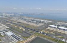 羽田空港、第1・第2ターミナル接続を国交省検討 首都高上に人工地盤