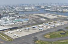 羽田空港2020年旅客、64.3%減3105万人 国際線は82.8%減321万人