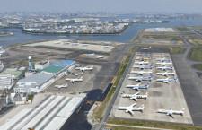 羽田空港、4月利用者92.3%減50万人 国際線は98.1%減2.9万人