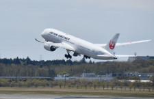 JAL、4月の国際線利用率14.4% 国内線19.6%