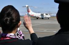 HAC、22年ぶり新機材ATR42就航 新型コロナで式典中止、初便は丘珠発釧路行き