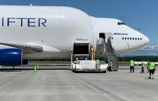 ボーイング、ドリームリフターで医療用マスク輸送 香港からサウスカロライナへ
