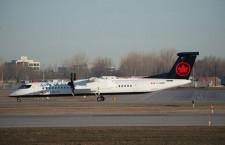 エア・カナダ、プロペラ機Dash 8を貨物機に 医療品運ぶ