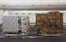 A350客室を貨物スペースに エアバスが開発、座席外してパレット搭載