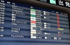 国際・国内利用率、31.0pt減50.7% IATA、20年5月旅客実績