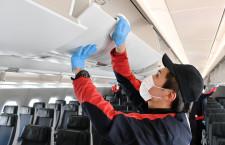 「ここは大丈夫かな?よりも安心を」JALの機内消毒、スタッフに聞く