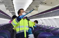 ピーチ、ウイルス対策公開 間もなく国内全線再開、旅客の不安払しょくへ