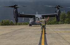 ボーイング、V-22オスプレイ納入400機到達