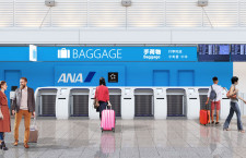 ANA、伊丹に自動手荷物預け機導入 17日から、全国展開完了