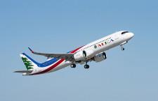 ミドル・イースト航空、A321neo初号機受領 PWエンジン搭載