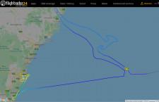カンタス航空の747、カンガルー描きラストフライト QF7474便