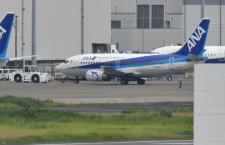 ANAスーパードルフィン、最終便の機体が中国へ ロゴありで羽田から離日