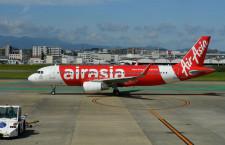 エアアジアG、4-6月期旅客98%減 利用率59%