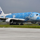 中部空港、ANAのA380遊覧飛行で滑走路ツアー 子供会員を無料招待