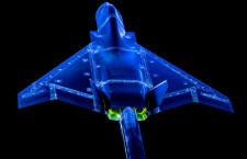 英BAE、次世代戦闘機テンペストの風洞実験 3Dプリンターで模型作成