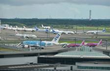 成田空港、8月総旅客91%減38万人 国際線11万人