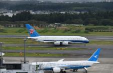 中国南方航空のA380、成田初就航 広州線に週1往復