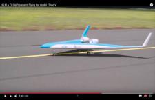 KLM、V字型次世代機「Flying-V」プロトタイプ初飛行