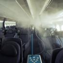 ユナイテッド航空、機内消毒に抗菌スプレー追加 週1回噴霧、細菌の繁殖抑制
