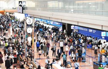 4連休初日の羽田空港、2月以来の混雑 ANA井上専務「サステイナブルなものにしていきたい」