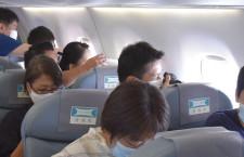 FDA、日本アルプス縦断フライト 悪天候で富士山遊覧を変更