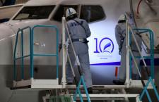 ANAウイングス、737に創立10周年デカール貼付 Q400含め10機対象