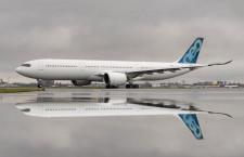 A330-900航続距離延長型、EASA認証取得 最大離陸重量251トン仕様