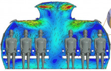 IATA、機内感染は2700万人に1件、エアバスやボーイングら流体力学で検証