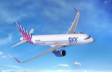 スカイエクスプレス、A320neoを6機導入へ 初のエアバス機