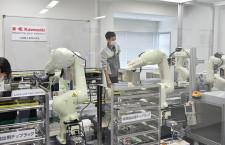 川崎重工、ロボット使用の移動式PCR検査システム 80分に短縮、空港で導入目指す