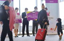 ピーチ、成田1タミ1年ぶりに復帰 国際線は北ウイング、駅直結で利便性向上