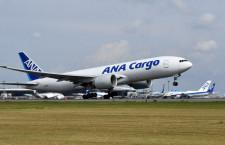 ANA、フランクフルト貨物便を定期化 777Fで週2往復