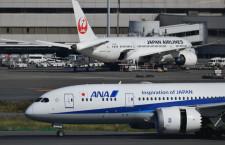 ANAとJAL、緊急事態宣言期間の払戻手数料免除 減便は8日発表