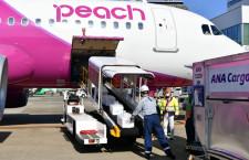 ピーチ、ANAの貨物扱い開始 初便は福岡から那覇へ