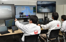 JAL、遠隔無人ヘリで物流実証 五島列島、1000キロ先の本社から操作